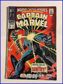 Marvel Super Heroes #13 Comic 1968 1st Appearance Captain Marvel Carol Danvers