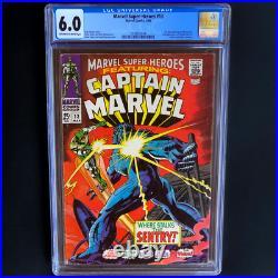 Marvel Super-heroes #13 Cgc 6.0 1st App Carol Danvers! 2nd Captain Marvel