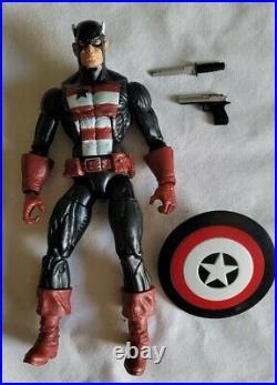 Marvel legends US AGENT Captain America Epic Heroes Comic w gun shield knife