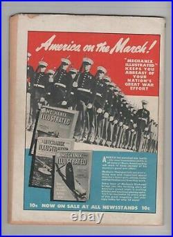 Master Comics #27 1942, Captain Marvel Jr, V For Victory, Comic Book (l@@k!)