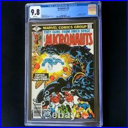 Micronauts #8 (Marvel 1979) CGC 9.8 WHITE 1st App Captain Universe! Comic
