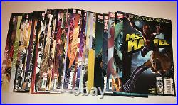 Ms Marvel 1-50 Comic Lot COMPLETE Set 2006 Series Captain Annual Binary One-Shot