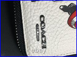 NWT 1859 Coach Marvel Medium Zip Around Wallet with Captain America