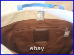 NWT Coach 2547 Marvel Tote with Captain America Leather&Canvas Shoulder Bag $298