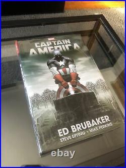 New Sealed Marvel Comics Captain America Ed Brubaker Omnibus DM Variant GN