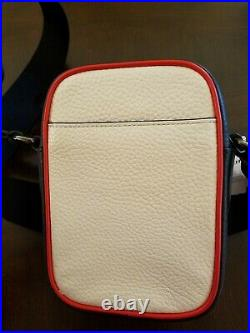 Nwt Coach 2430 Limited Edition Marvel White Leather Crossbody Captain America