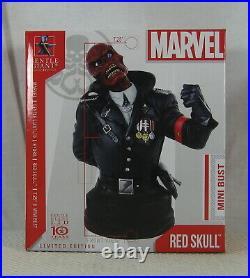 Red Skull Mini Bust 084/500 Gentle Giant Captain America Marvel NEW SEALED