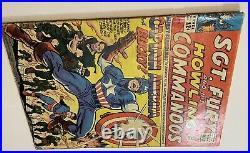 SGT. Fury # 13 With Captain America And Bucky MARVEL COMICS 1964 Vintage Old
