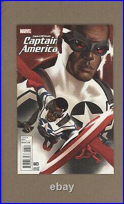 Sam Wilson Captain America #3 Epting Variant Vf 2016 Comic Kings