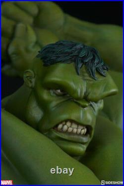 Sideshow Marvel Hulk Avengers Assemble Statue Thor, Captain America, Thanos
