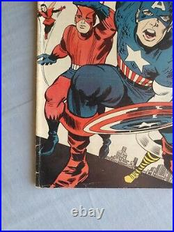 THE AVENGERS #4 1st S. A. Captain America Beautiful Mid Grade