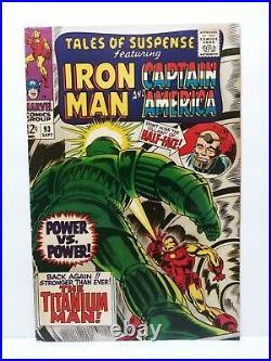 Tales Of Suspense 75 81 84 86 89 93 Silver Age Comic Book Lot 6 Captain America