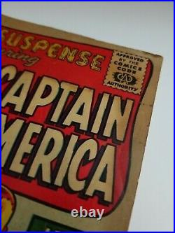Tales of Suspense #59 (Marvel Comics, 1964) Captain America Iron Man, 1st Jarvis
