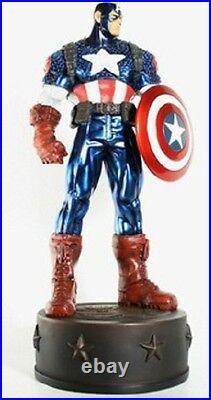 Ultimate Captain America Statue Metallic Variant New 2011 Avengers Bowen Marvel