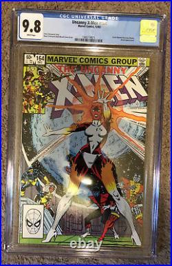 Uncanny X-Men #164 CGC 9.8 1st Binary Captain Marvel Carol Danvers