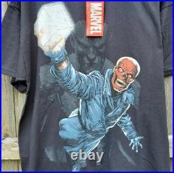 Vintage Marvel Red Skull Captain America t shirt XL Mad Engine