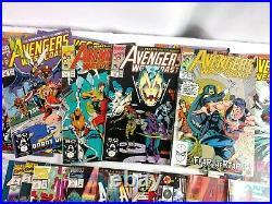 Vtg 1983-96 Marvel Comics Comic Book Lot Of 41 What If Avengers Captain America