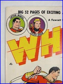 Whiz Comics #132 (1951 Fawcett) Captain Marvel Golden Age Comic Book, RARE 8.0