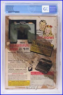 Whiz Comics #2 (#1) Fawcett 1940 CBCS 1.0 1st App & Origin of Captain Marvel