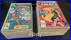 Wow! MEGA-RUN of 91 CAPTAIN AMERICA Comics! #363-454 (VF/NM)