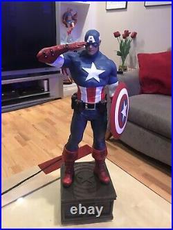 XM Studios Captain America Sentinel of Liberty 1/4 Statue USA Seller